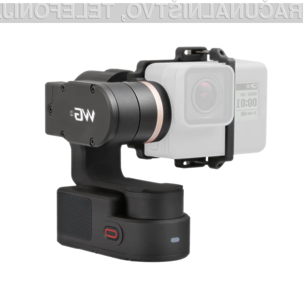 S stabilizacijsko palico FeiyuTech WG2 bodo naši videoposnetki vedno optimalni!