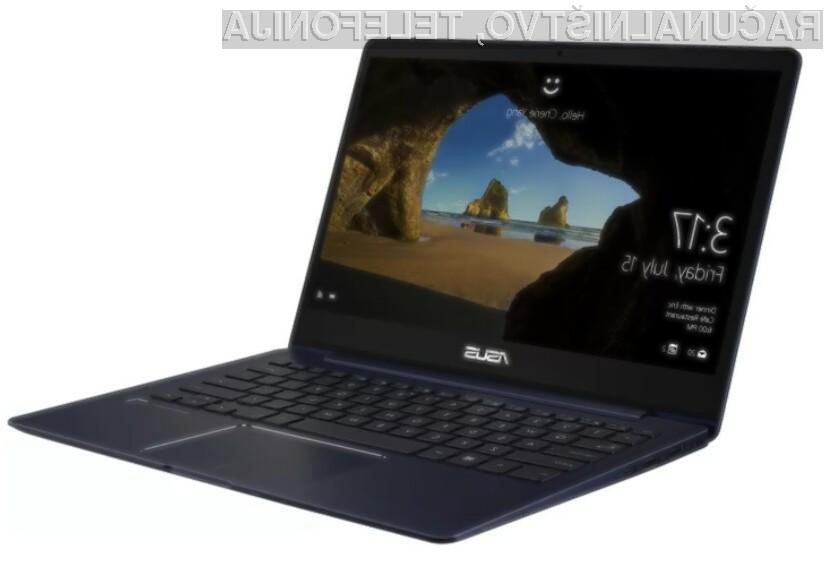 Ultrakompaktni prenosni računalnik Asus ZenBook 13 UX331 lahko uporabljamo celo za igranje naprednih računalniških iger!