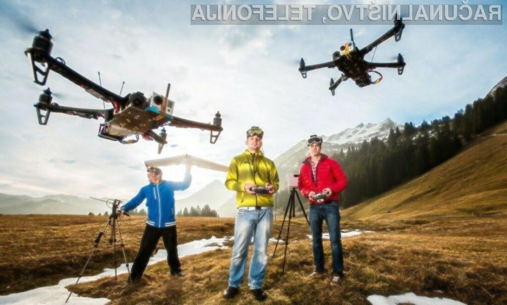 Evropska agencija za varnost v letalstvu bi rada pravno uredila področje dronov.