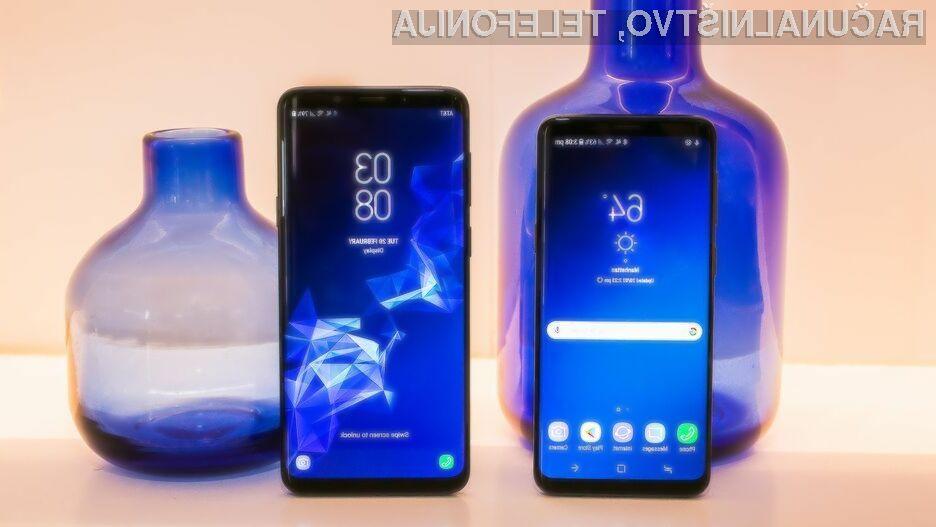 Samsung predstavil supertelefona Galaxy S9 in S9+