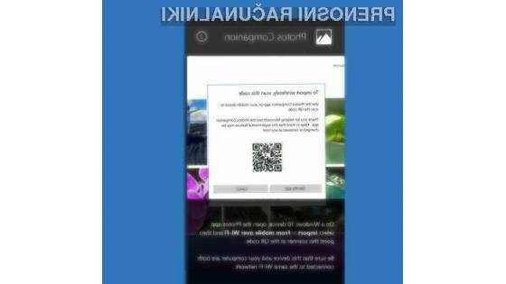 Spoznajte Microsoftovo aplikacijo za prenašanje fotografij