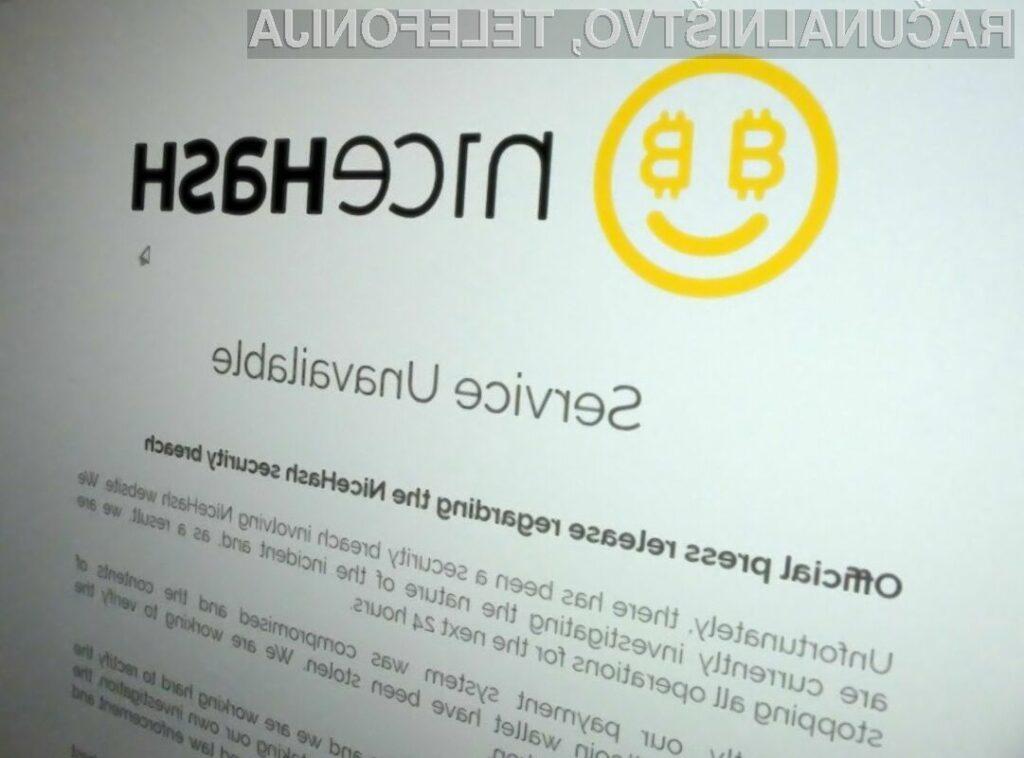 NiceHash bo le povrnil ukradena sredstva