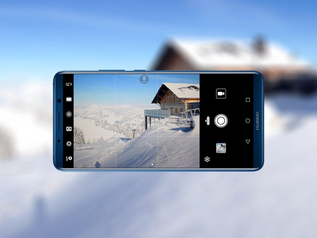 5 trikov za Huawei Mate 10 Pro za snežne ramere
