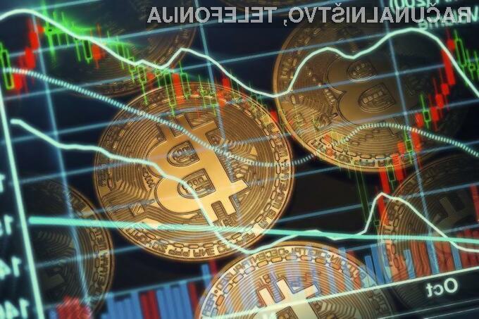 Vrednost kriptovalut narašča in pada nenapovedano
