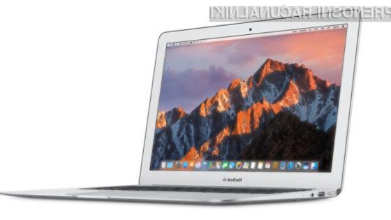 Apple načrtuje cenovno dostopnejši MacBook Air v drugem četrtletju 2018