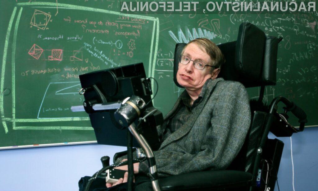 Stephen Hawking: Veliki um v šibkem telesu