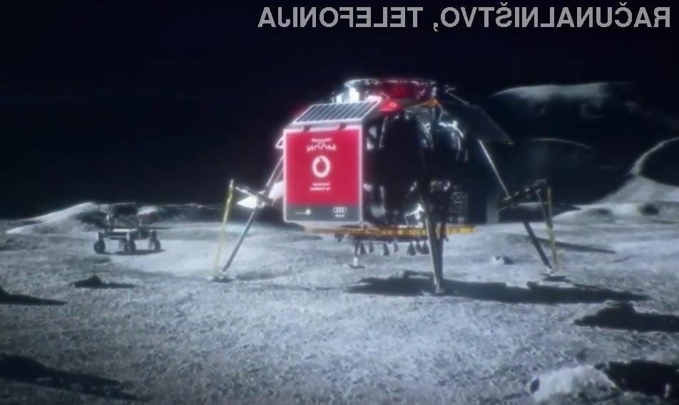 Mobilno omrežje 4G kmalu tudi na luni