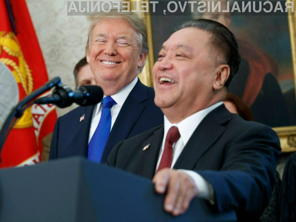 Donald Trump očitno ne verjame v dobre namere in obljube Kitajcev.
