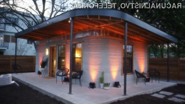 Natisnjena hiša za zgolj 3.200 evrov