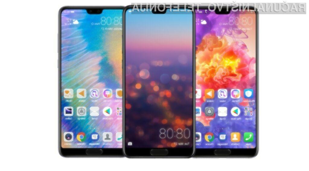Huawei z novimi telefoni napovedal resen boj za prestol mobilne telefonije