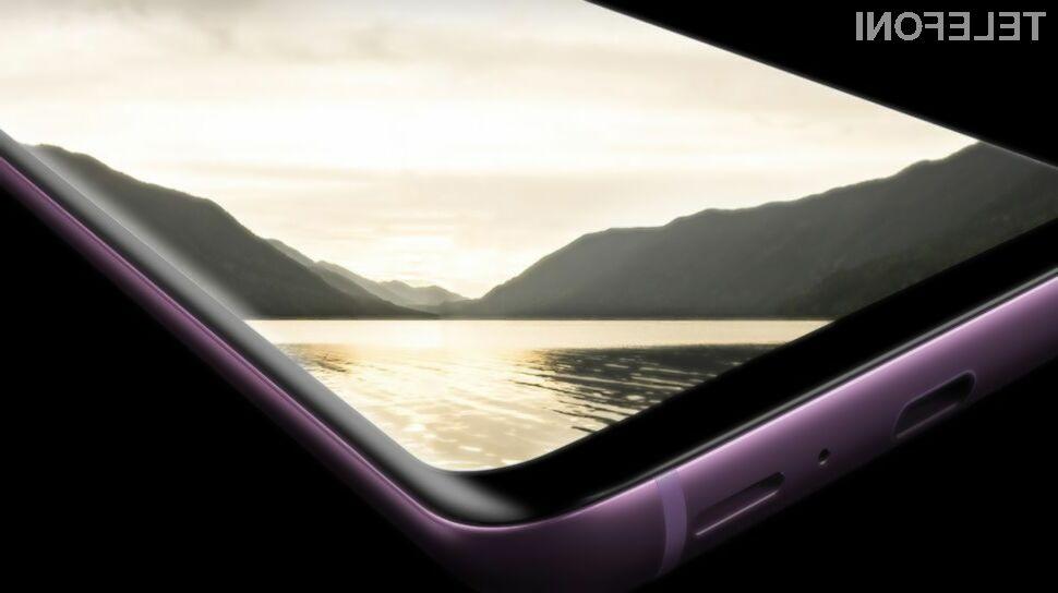 Samsung Galaxy S9 ima najboljši zaslon na svetu
