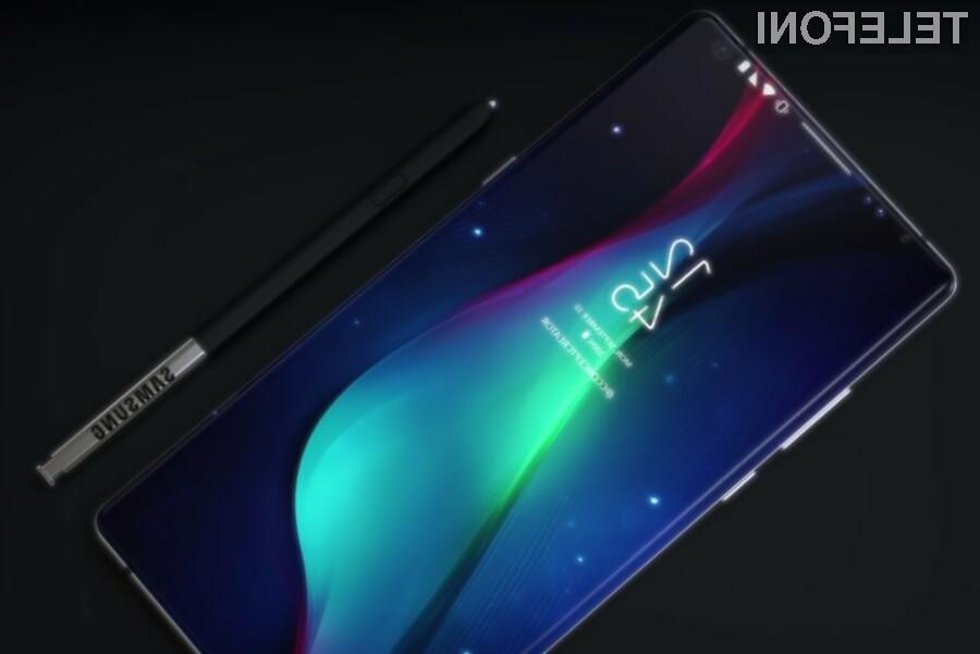 Samsung Galaxy Note 9 - koncept