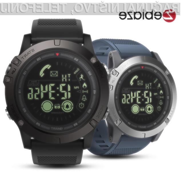 Športna ročna ura Zeblaze BT4.0 Sports Smart Watch je lahko naša že za 19,99 evrov!