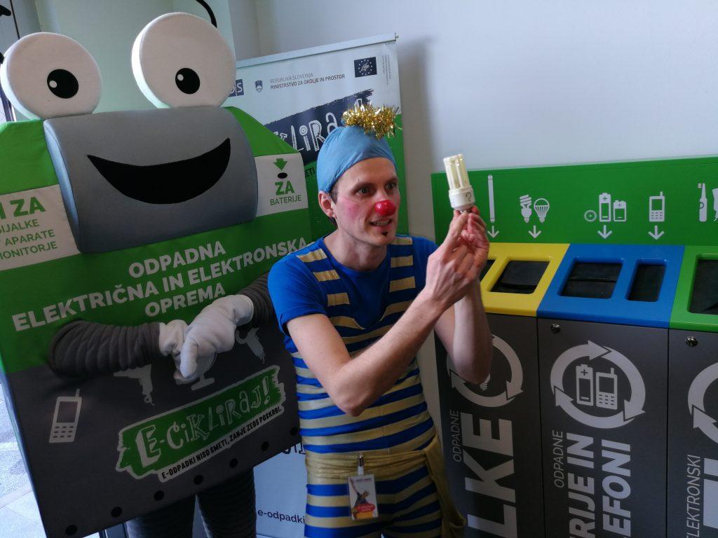 ECI in dr. Aleksander Smerkelj pri zelenem kotu