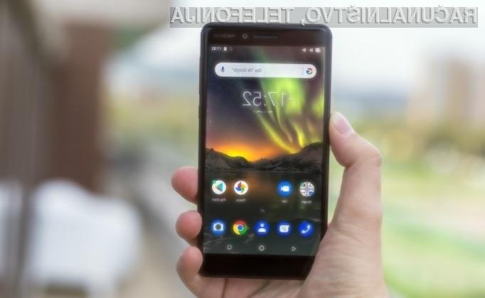 Nokia 6 2018 je na evropskem trgu vrednotena na okoli 265 evrov.