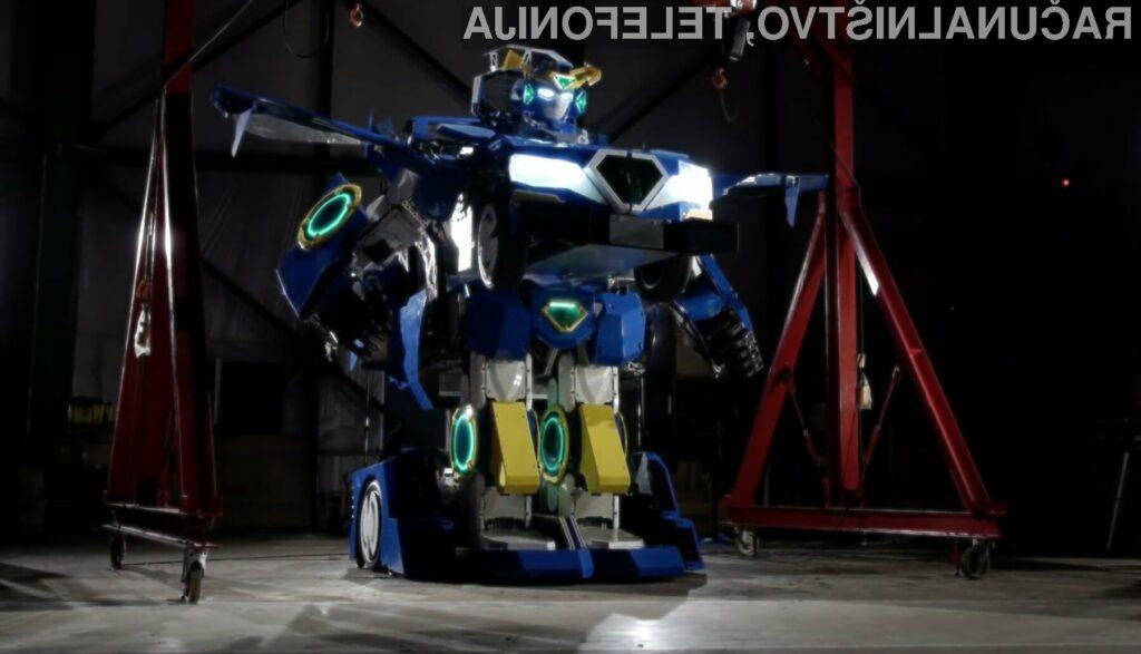 Japoncem uspelo izdelati prvega pravega transformerja