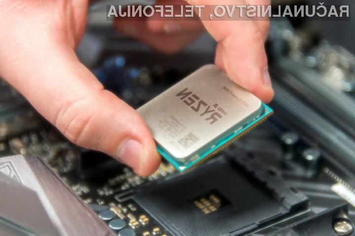 Energijsko varčna procesorja AMD Ryzen pri polni obremenitvi porabita zgolj 35 vatov električne moči.