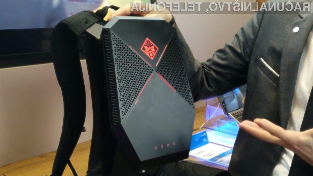 Prenosni namizni računalnik Omen X P1000 podjetja HP navdušuje v vseh pogledih!