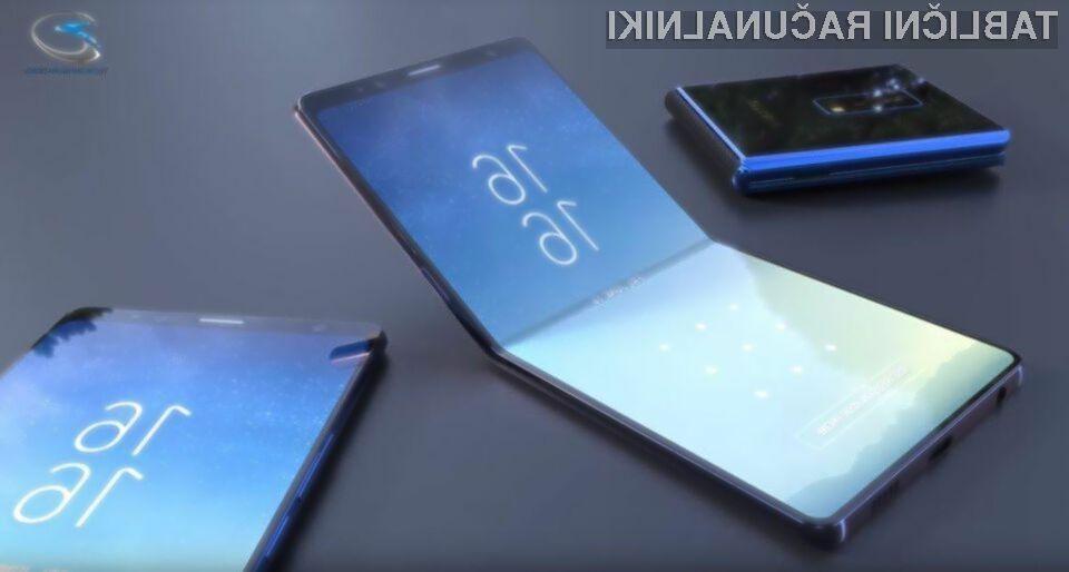 Ste že slišali za Samsungovo zložljivo tablico?