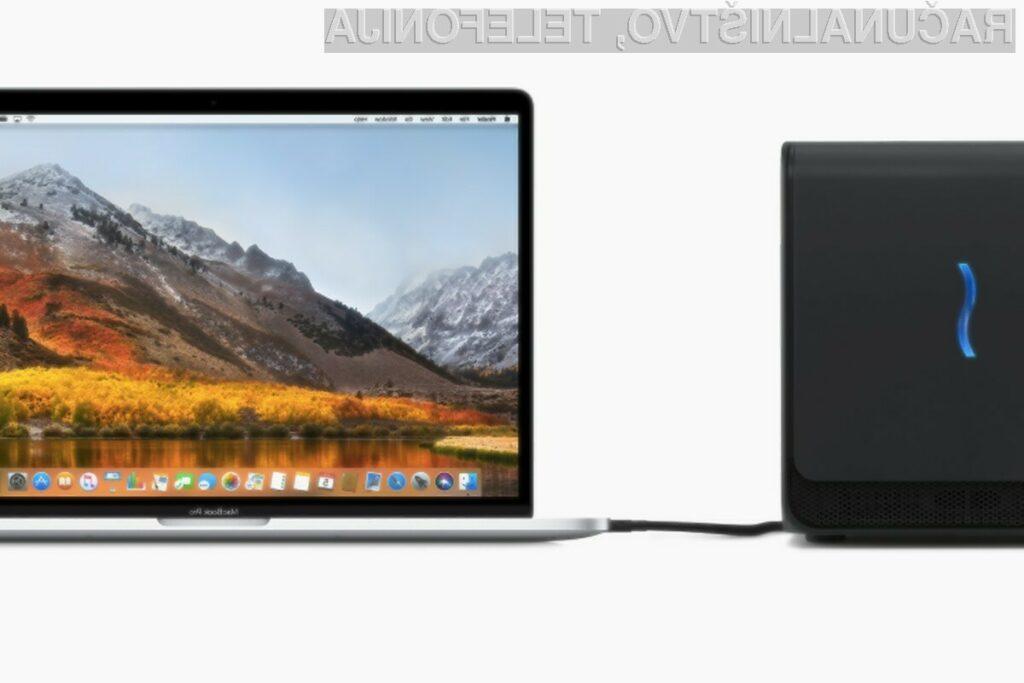 Operacijski sistem Apple macOS 10.13.4 nudi podporo za zunanje grafične kartice.
