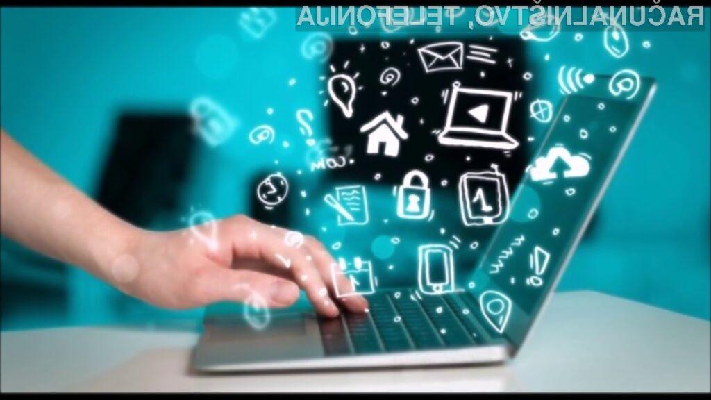 Širokopasovna internetna povezava je v Sloveniji postala univerzalna pravica