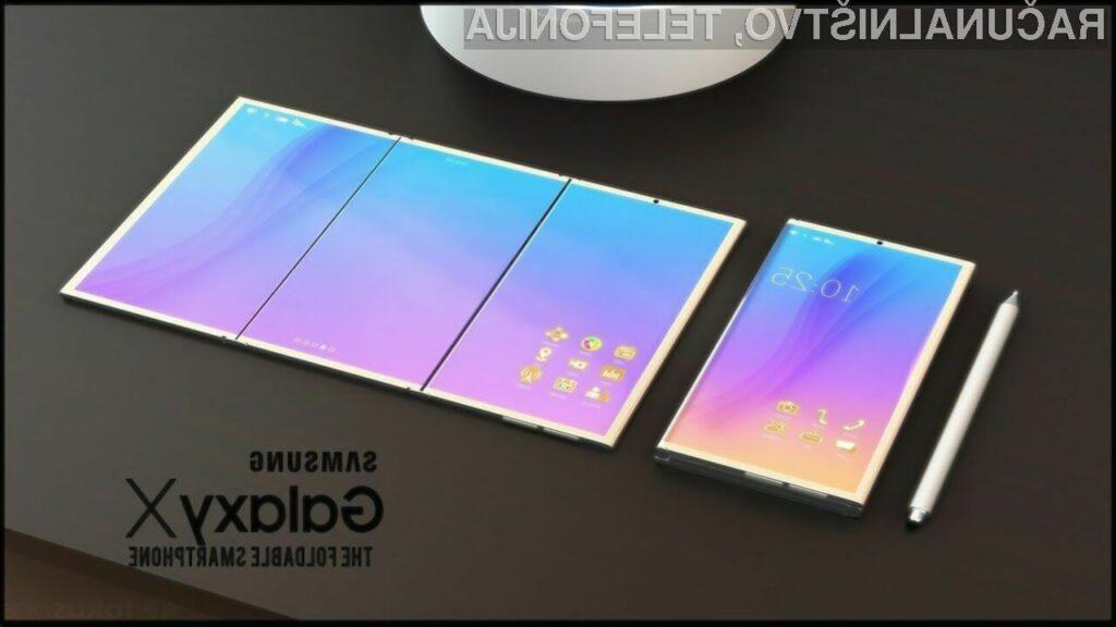 Prepogljiv Samsung Galaxy X s kar tremi zasloni OLED?