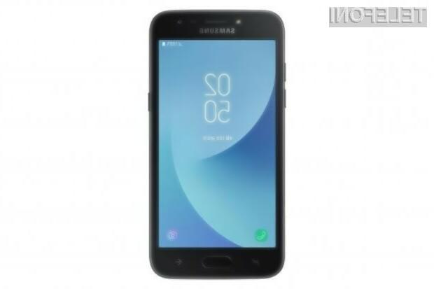 Samsung s pametnim telefonom, ki ga ni mogoče povezati na splet