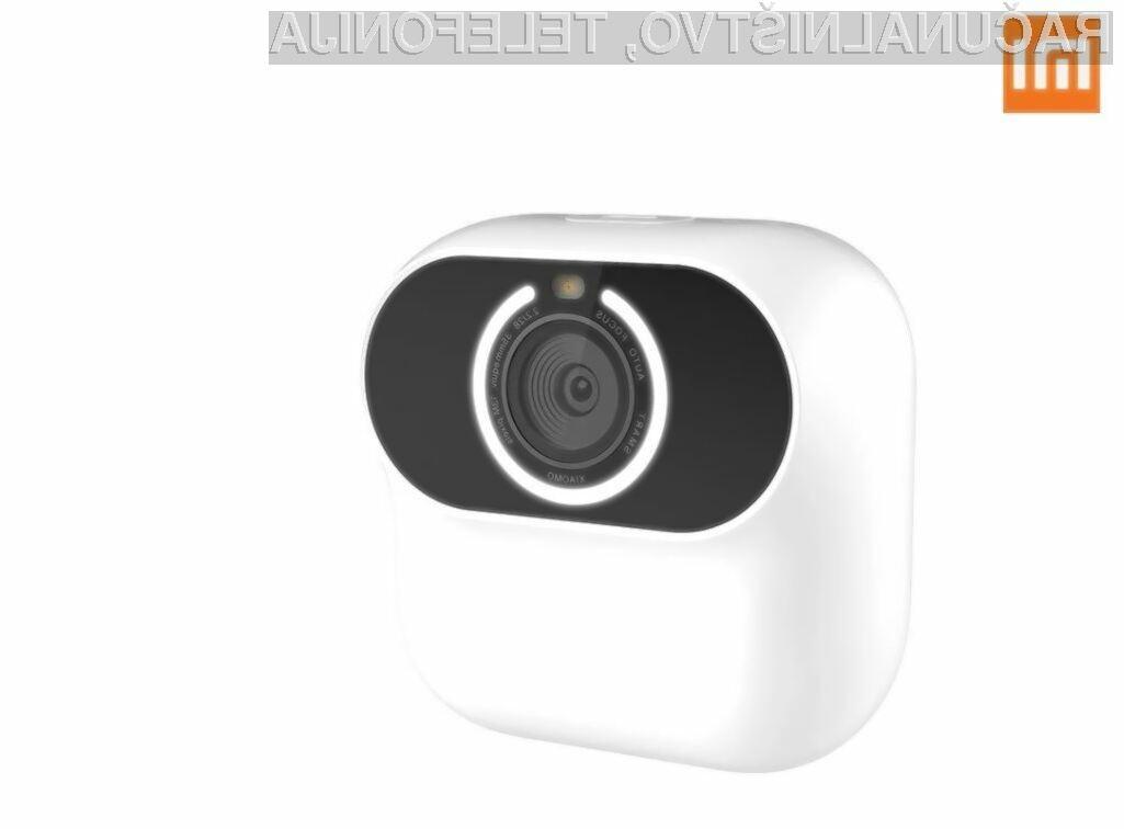 Z nakupom pametne kamere Xiaomi Xiaomo zagotovo ne bomo zgrešili!
