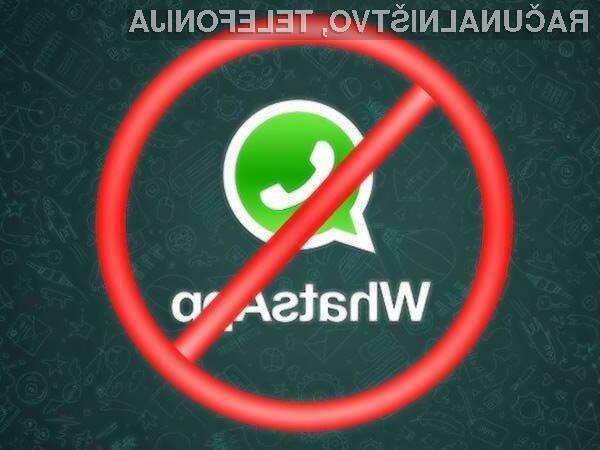 Za uporabo storitve WhatsApp bo v Evropi treba biti starejši od 16 let.
