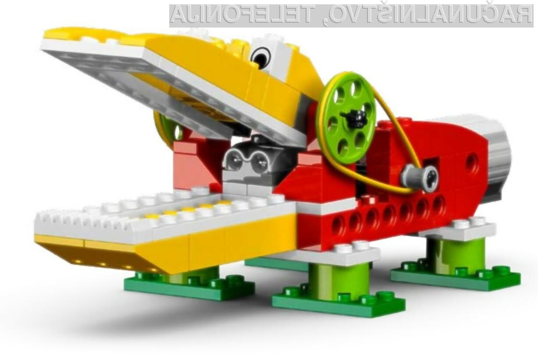 Tečaj robotike z LEGO