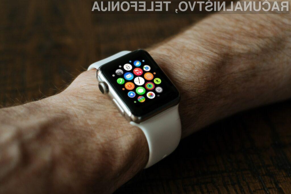 Pametna ura Apple Watch ponovno rešila življenje