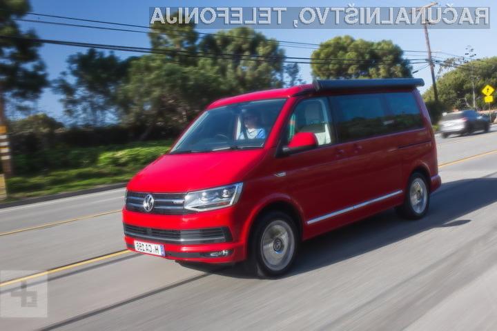 Apple bo svoje zaposlene prevažal v samovozečih kombijih Volkswagen