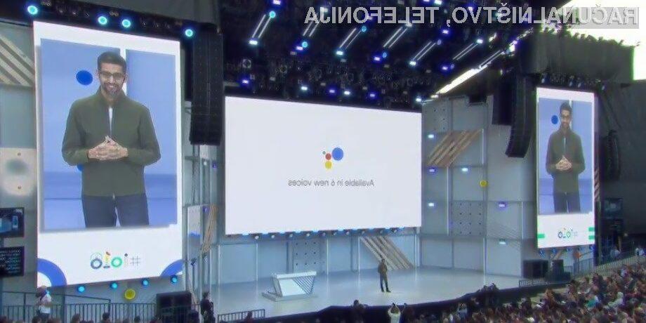 Google na nedavni konferenci I/O 2018 nikakor ni razočaral!