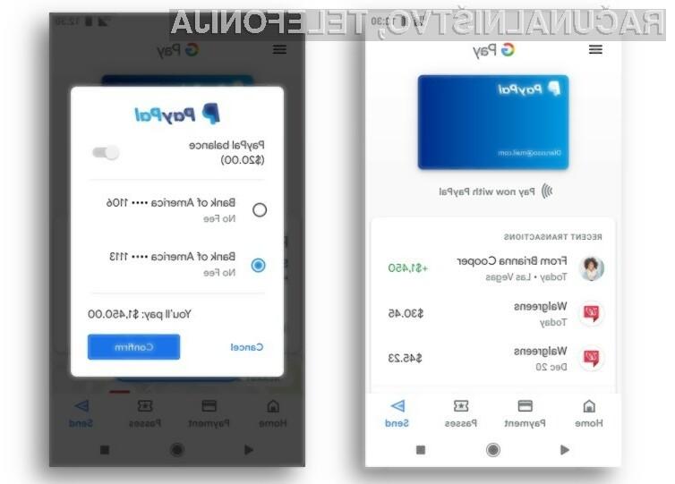 PayPal odslej zagotavlja enostavnejše in hitrejše plačevanje v priljubljenih storitvah, kot so Google Play, YouTube in Gmail.