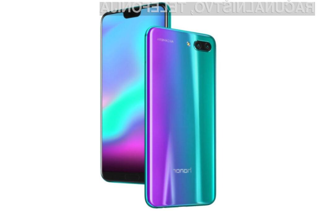 Honor 10 gre v prodajo kot za stavo!