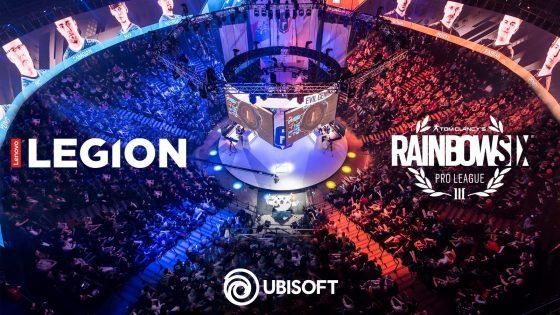 Lenovo Legion™ je partner družbe Ubisoft® in uradni sponzor tekmovanja Tom Clancy's Rainbow Six® Siege Pro League