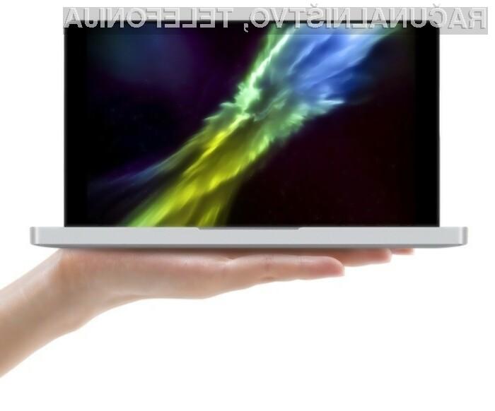Kompaktni One Notebook One Mix Yoga meri le 182 x 110 x 17 milimetrov in tehta zgolj 515 gramov.