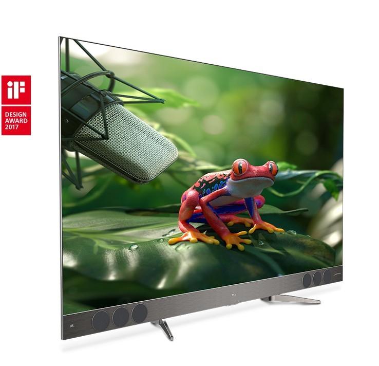 TCL - Edini Android QLED TV na svetu z nagrajenim ultra tankim dizajnom in neprimerljivim JBL zvokom!