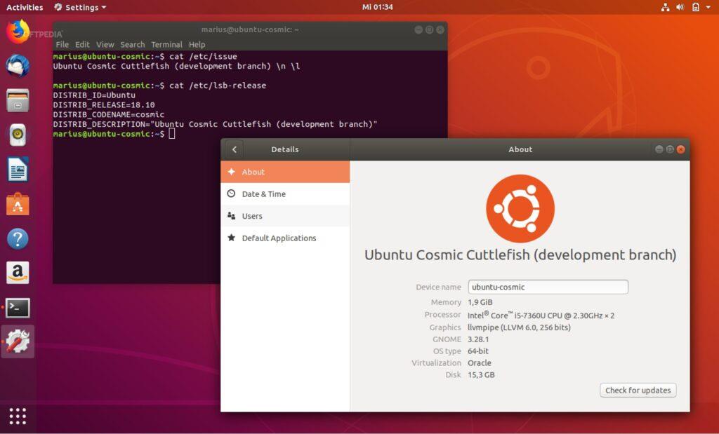 """Ubuntu 18.10 """"Cosmic Cuttlefish"""" bo uporabnike bolje obvaroval pred spletnimi nepridipravi."""