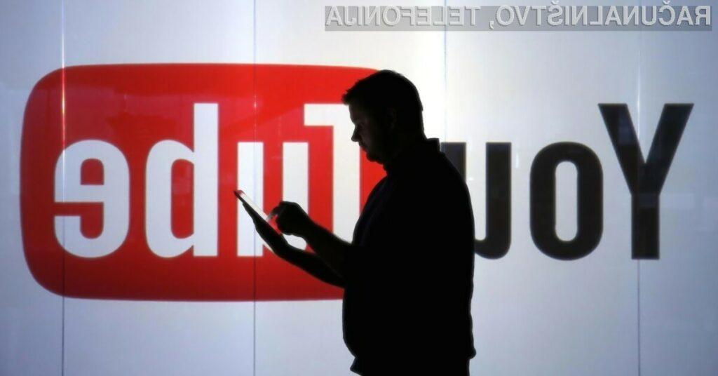 YouTube za deljenje video vsebin trenutno uporablja kar 1,8 milijard mesečno aktivnih uporabnikov.