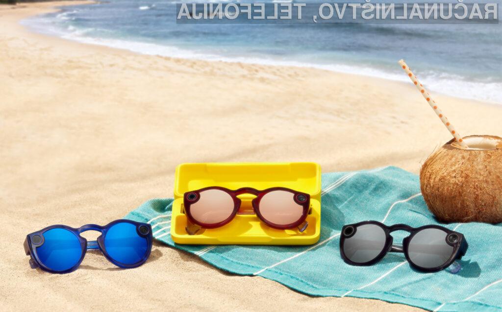 Očala Spectacles (model 2018) bodo na voljo tudi preko spletne trgovine Amazon!