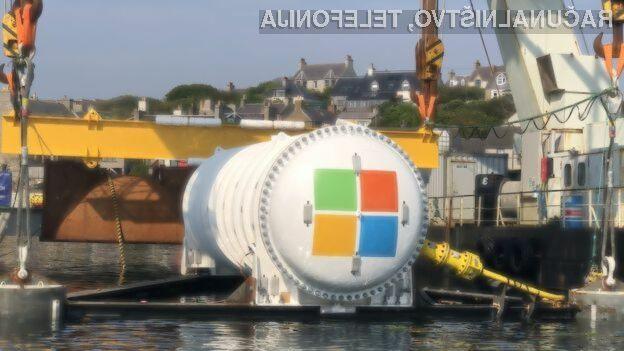 Microsoftov podatkovni center na dnu morja