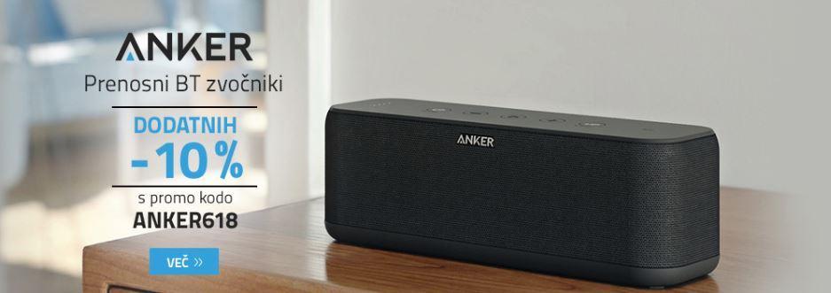ANKER prenosni BT zvočniki -10%