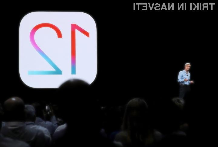 Kako na vaš iPhone in iPad dobiti iOS 12?
