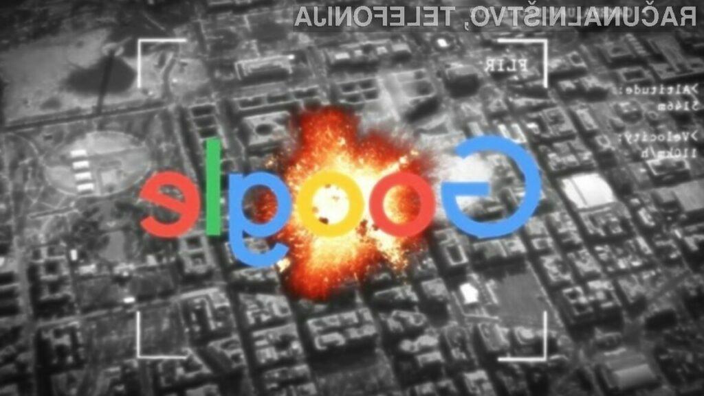 Google bo z ameriškim ministrstvom za obrambo sodeloval le še do konca leta 2019.