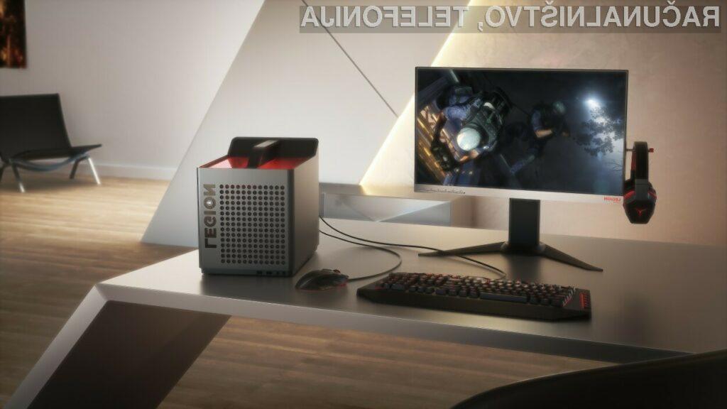 Lenovo presenetil s kompaktnimi računalniki za igranje iger