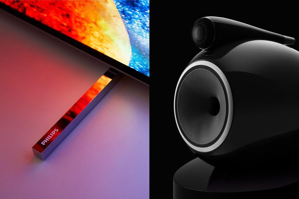 Philips in Bowers & Wilkins sklenila  ekskluzivno partnerstvo z namenom ustvarjanja izjemnih izdelkov, ki bodo na trgu televizorjev resnično postavili nove vizualne in avdio standarde.