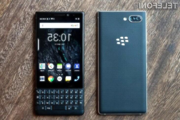 BlackBerry se vrača v velikem slogu