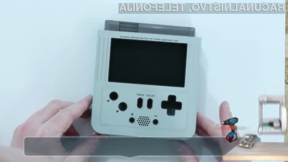 Prenosna igralna konzola Nintendo NES izgleda naravnost fantastično!