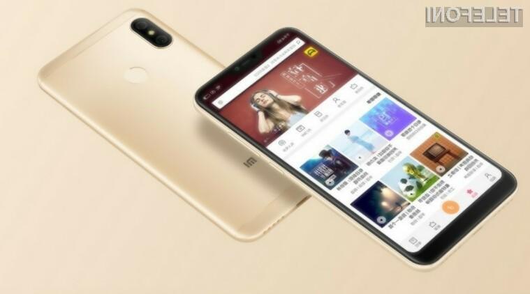 Xiaomi uradno predstavil Redmi 6 Pro